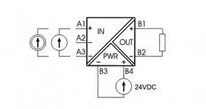 schemat-LXA-U1U - separator 4-20mA