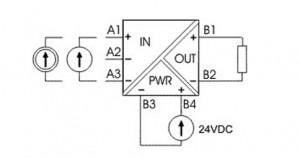 schemat-LXA-X1X - separator 4-20mA